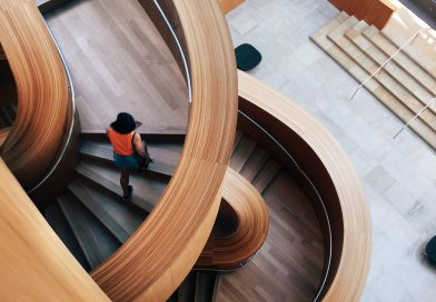 Treppen aus Holz